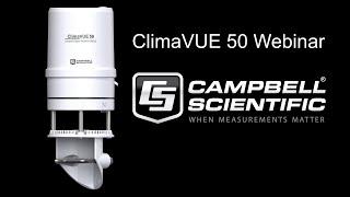 webinar presentación del climavue™50