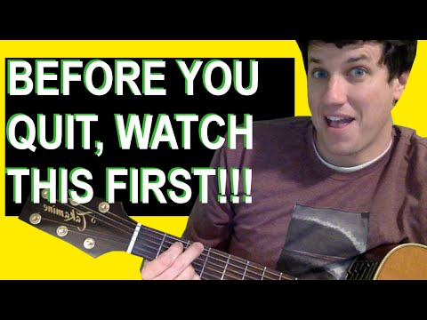 Guitar Lessons For Beginners: Before You Quit, WATCH THIS FIRST