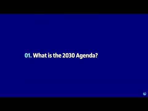 What is the 2030 Agenda?