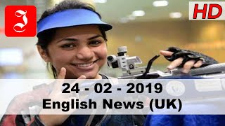 News English UK 24th Feb 2019