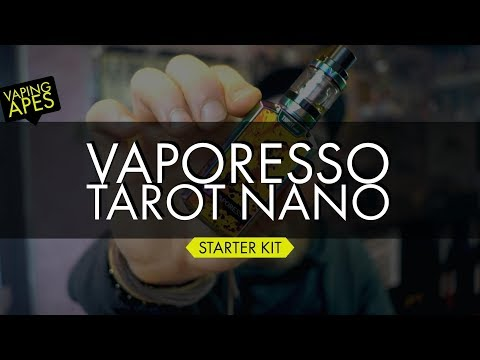 YouTube Video zu Vaporesso Tarot nano Akkuträger 80 Watt 2500 mAh