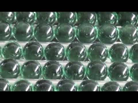 Making Marbles From Recycled Glass