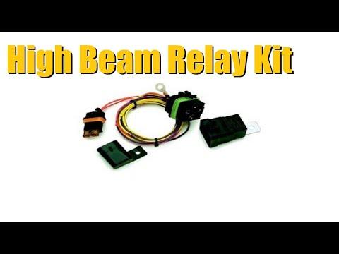 Watch High Beam Headlight Relay Kit Upgrade (GM Trucks