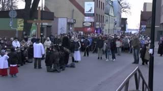 preview picture of video 'Droga Krzyżowa Ulicami Miasta Puck Gmina Puck - Miasto Puck - Foto Puck - Film Puck'