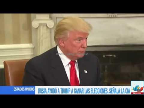 El Washington Post afirma que Rusia interfirió en elecciones de EU para que ganara Trump Video