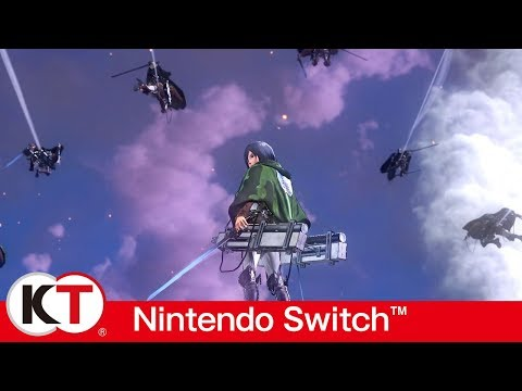 Attack on Titan 2 – Nintendo Switch Gameplay Trailer