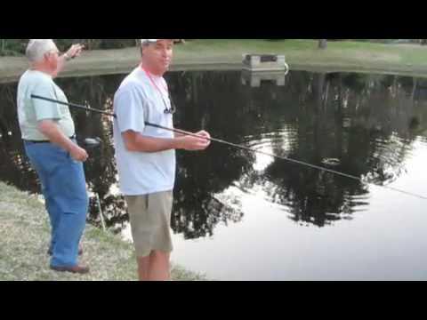 Florida Fishing: Pond Bluegills.