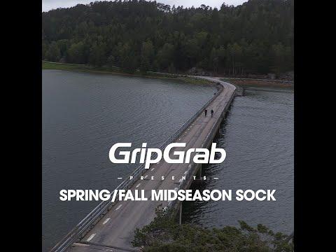 GripGrab Cykelstrømper til Køligt Vejr Sort video