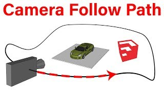 Download Camera Along Path in SketchUp | Path Animation