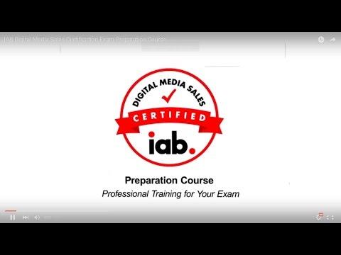 IAB Digital Media Sales Certification Exam Preparation Course ...