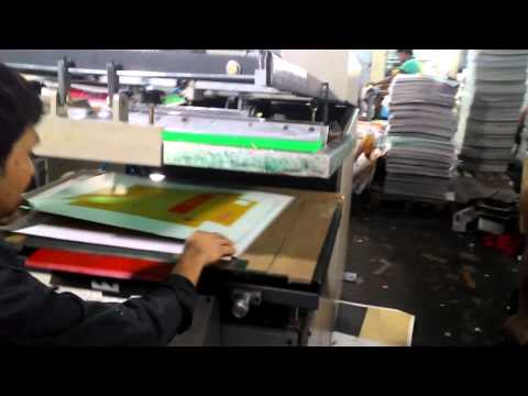 Screen Printing Machines