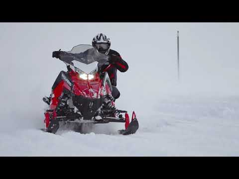 2022 Polaris 650 Indy XC 137 Factory Choice in Shawano, Wisconsin - Video 2