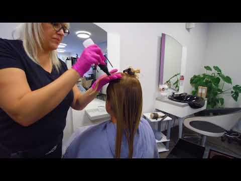 Das Foto die Shampoos vom Haarausfall