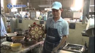 Secoin - Encaustic Cement tile - Moroccan tiles - Handmade tiles - Gạch bông Secoin