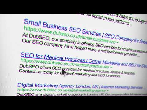 Google Search Engine Optimisation with Dubseo