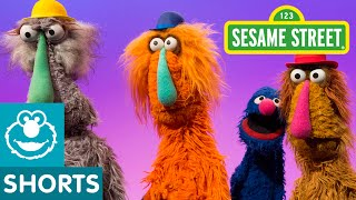 Sesame Street: Grover Finds the Tallest Monster