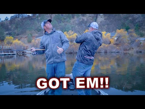 The Float N Fly Just Got Easier! | Winter Bass Fishing