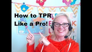 VIPKID TIPS: How to TPR Like a Pro! with Teacher Jennie