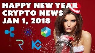 Crypto News Weekly Recap - Jan 1, 2018 - Ripple Raiblocks Request KuCoin Kin XP
