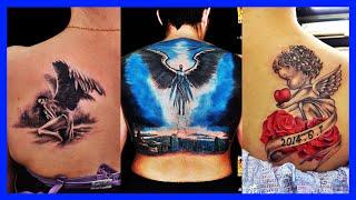 BEST ANGEL TATTOOS FOR MEN 2018 | BABY ANGEL TATTOOS IDEAS FOR GIRL, 3D BEAUTIFUL ANGEL TATTOO WOMEN