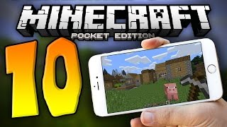 10 THINGS You Didn't Know About MCPE!!!   Minecraft PE (Pocket Edition)