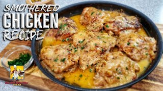 Smothered Chicken And Gravy Recipe | Comfort Food
