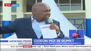 Gideon Moi: Government should address drought issue