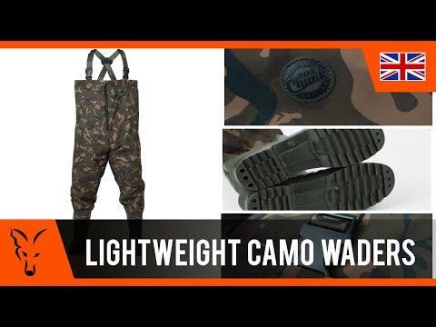 Fox Chunk Camo Lightweight Waders Mellescsizma videó