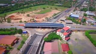 Viaducto y túnel de Madame Lynch y Aviadores del Chaco.