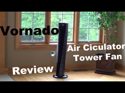 Vornado V-Flow Review | Large Tower Air Circulator | Fan Review | Model 184 & 153