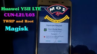Huawei Y5 II LTE CUN-L21/L03 TWRP and Root
