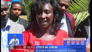 Gladys Shollei ashtumu muungano wa NASA akiunga mkono msimamo wa IEBC