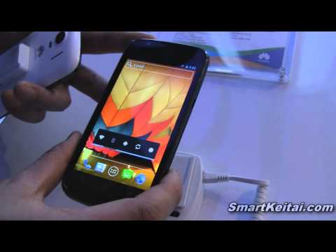 Huawei Ascend P1 LTE hands-on demo