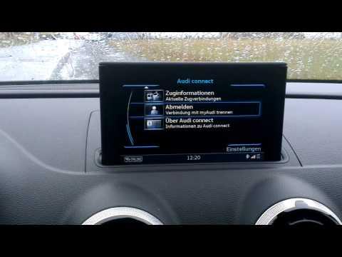 Audi A3 Sportback: MMI Navigation plus mit MMI Touch / Grundfunktionen