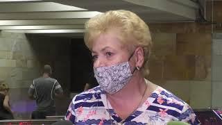 У харківському метро штрафували пасажирів без масок