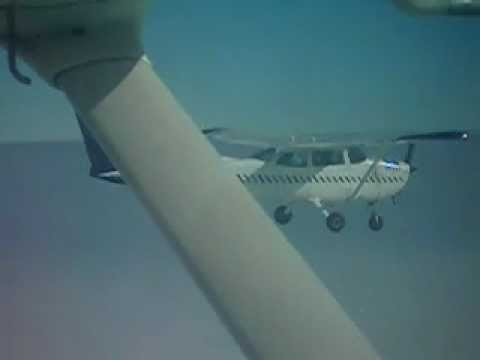 Fastest 180 turn on a Cessna 172