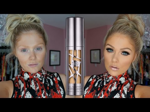 Urban Decay All Nighter Foundation | First Impressions Review + Demo