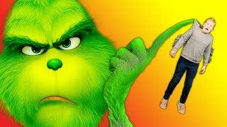 Assistant Shrinks and Plays Hide and Seek with The Grinch and the PJ Masks