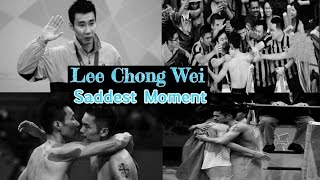 Lee Chong Wei - The story of Saddest Moment - Most Unlucky Player