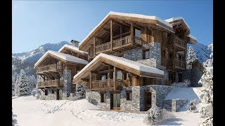 CHALETS PURE WHITE & BLACK CRYSTAL