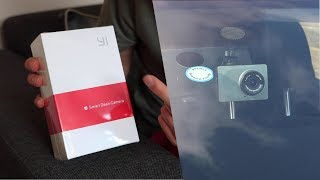 Yi Smart Dash Cam - How To Setup & Test Footage!