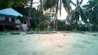 preview picture of video 'Sambu Beach in the afternoon, but no sunshine'