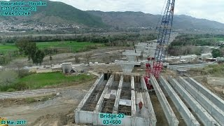 CPEC, Haripur Hazara to Havalian Motorway Progress Dated 03 March, 2017