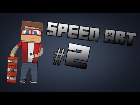 [Minecraft] Speed Art #2 - Denzhaman