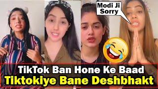 TikTokers Bane Deshbhakt | Tiktokers Reaction On TikTok Ban | TikTok Roast | Twibro Official