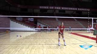Volleyball Jump Set Mechanics - Lauren Carlini - Art Of Coaching VB