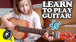 Kids INSTANTLY Learn Guitar! ?