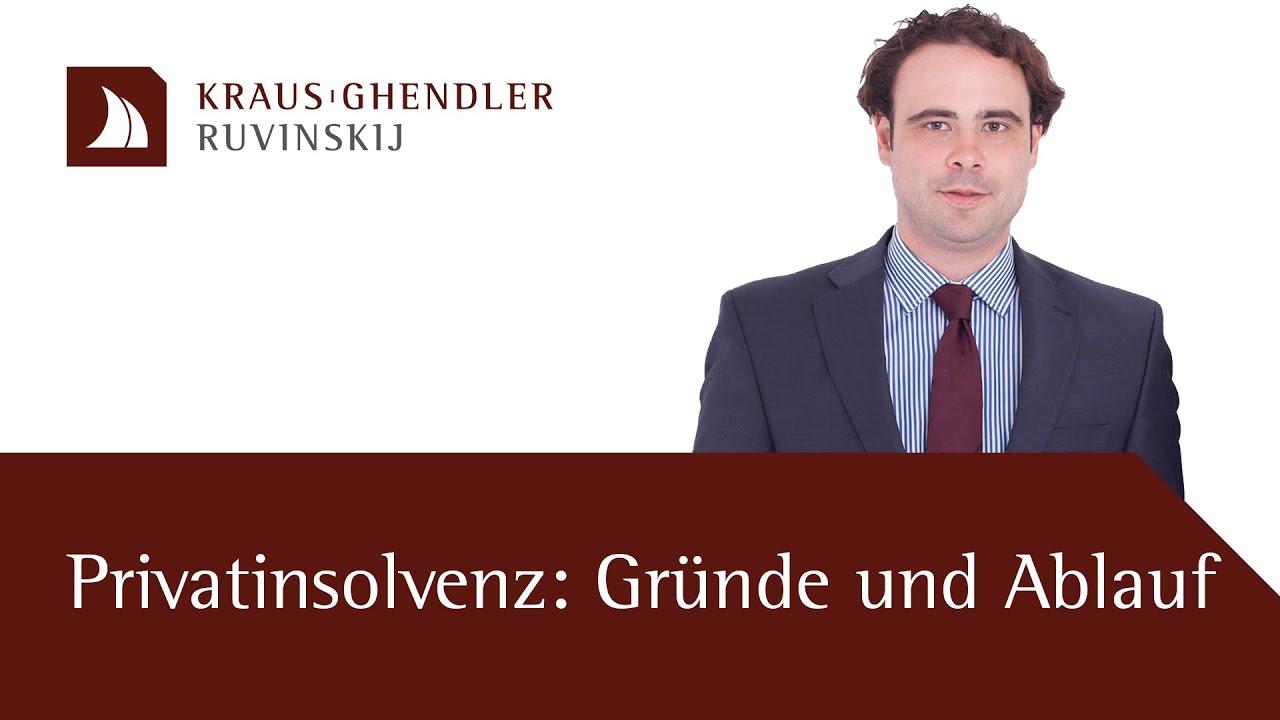 Privatinsolvenz anmelden: Gründe und Ablauf