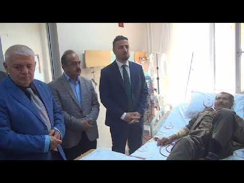 Şırnak Devlet Hastanesi' nde Hastalara Manevi Danışmanlık ve Rehberlik Hizmeti Verildi
