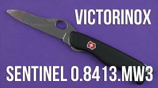 Victorinox Sentinel One Hand (0.8413.MW3) - відео 2